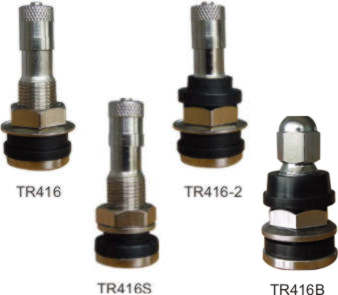Valves, metal, for passenger cars and light commercial vehicles