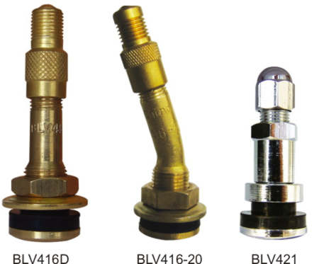 Valves, metal, for car wheels Ford F-series